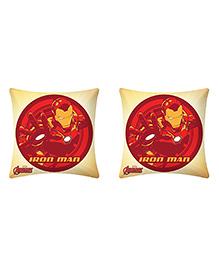 Uber Urban Cushion Iron Man Print Cream And Red - Pack Of 2