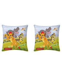 Uber Urban Cushion Lion Guard Print Multi Color - Pack Of 2