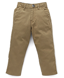 Gini & Jony Full Length Trousers - Light Brown