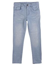 Mothercare Full Length Denim Jeans - Light Blue