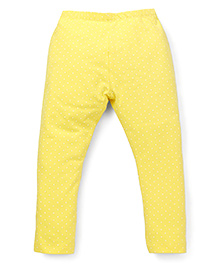 Mothercare Solid Colour Leggings - Yellow