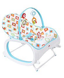 Fisher Price New Infant to Toddler Rocker - Geo Diamonds