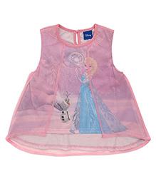 Mothercare Sleeveless Dress Elsa Print - Pink