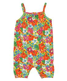 Mothercare Floral Jumpsuit - Multicolor