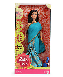 Barbie In India Doll - Sky Blue