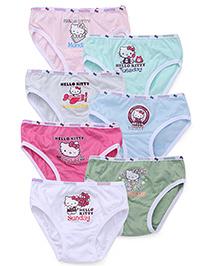 Hello Kitty Panties Pack of 7 - Multicolour