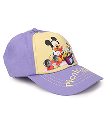 Disney Mickey And Friends Cap Yellow And Purple  - 50 cm