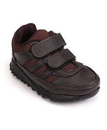 FORCE 10 Sports Shoes Dual Velcro Closure - Brown
