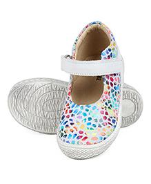 Beanz Gloria Belly Shoes - Light Grey