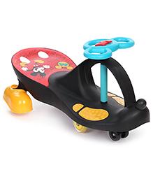 Mickey Swing Car - Black Red