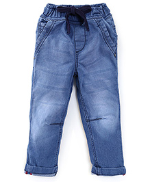 Kiddopanti Full Length Jeans - Light Blue