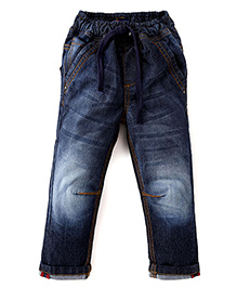 Kiddopanti Full Length Jeans - Dark Blue