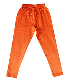 Kiddopanti Full Length Legging Plain - Orange