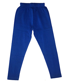 Kiddopanti Full Length Legging Plain - Blue