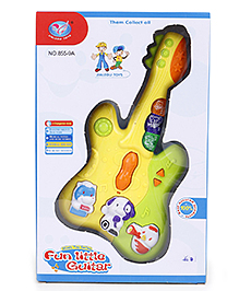 Baby Guitar Musical Toy - Yellow And Green