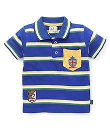 Olio Kids Half Sleeves T-Shirt - Blue