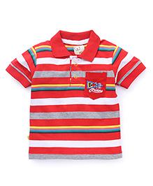 Olio Kids Half Sleeves T-Shirt - Red