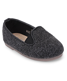 One Friday Dual Tone Loafers - Grey