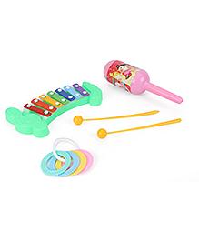 Ratnas Little Wonder Musical Masti Pack Of 3 - Multi Color