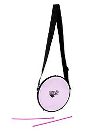 Ratnas Musical Instrument Tasha Drum - Purple And Pink