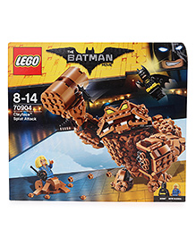 Lego The Batman Movie Clayface Splat Attack Brown - 448 Pieces