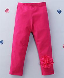 CrayonFlakes Flowery Leggings - Magenta