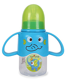 1st Step Twin Handle Feeding Bottle Blue - 125 Ml