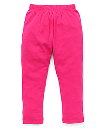 Vitamins Solid Colour Leggings - Pink
