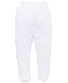 Vitamins Solid Colour Leggings - White