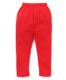 Vitamins Solid Colour Leggings - Red