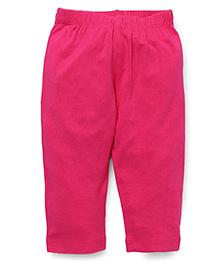 Vitamins Plain Leggings - Dark Pink