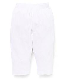 Vitamins Plain Leggings - White