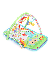 Fisher Price Rain Forest  Friends 3 In 1 Musical Activity Gym - Green