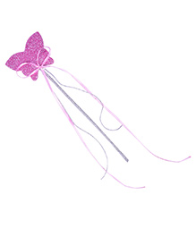 Carolz Jewelry Butterfly Shaped Fairy Wand - Purple
