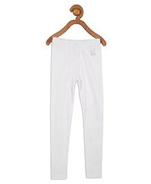 612 League Plain Leggings - White