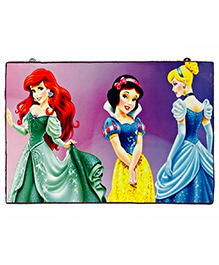 Li'll Pumpkins Multi Princess Character Wooden Pin Board - Multi Colour