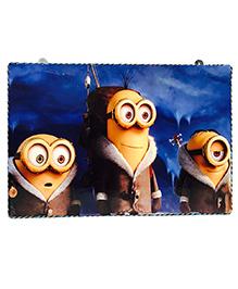 Li'll Pumpkins Funny Face Wooden Pin Board - Yellow & Blue