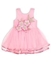 Aww Hunnie Fit & Flare Dress - Pink