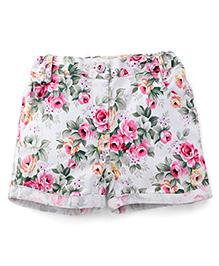 Pinehill Floral Printed Shorts - Multi Color