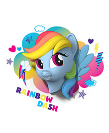 3D Light My Little Pony Rainbow Dash - Blue