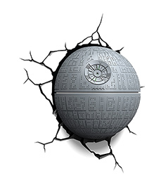 3D Light Star Wars Death Star Led Light - Grey