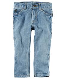Carter's 5-Pocket Slim-Fit Carpenter Jeans - Light Blue