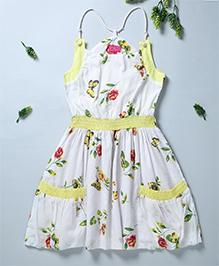 Pixi Cool Summer Singlet Dress - White