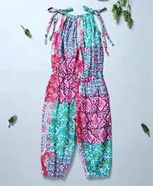 Pixi Singlet Pinafore Jumpsuit - Multicolour