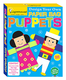 Lighthouse New Paper Bag Puppets - Multi Color