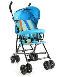 LuvLap Tutti Frutti Baby Stroller Buggy 18272 - Light Blue