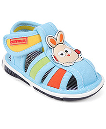 Cute Walk by Babyhug Sandals Rabbit Motif - Blue