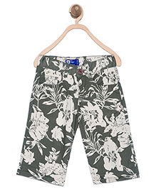 612 League Bermuda Shorts Safari Print - Green