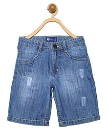 612 League Denim Shorts - Blue