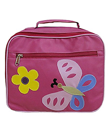 Kidzbash Lunch Box Bag Butterfly - Pink